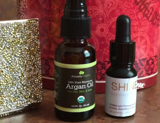 Actually Organic Argan Oil & Shine Brightening Oil, neversaydiebeauty.com