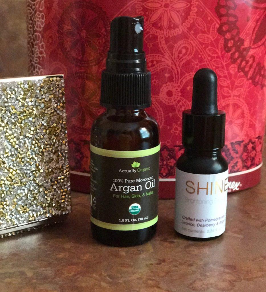 Actually Organic Argan Oil & Shine Brightening Oil, neversaydiebeauty.com
