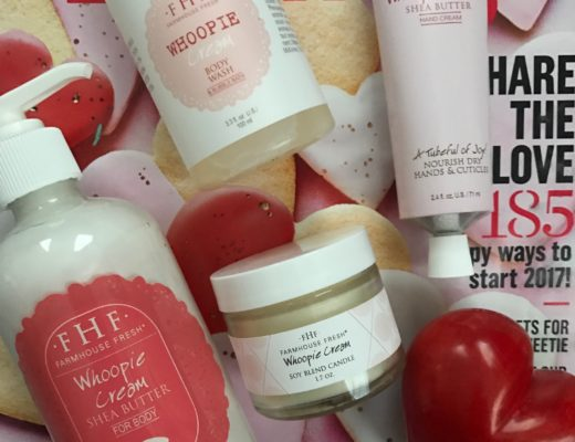 bath and body products that come in the Farmhouse Fresh Whoopie Cream Gift Set, neversaydiebeauty.com