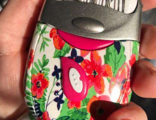 emjoi eRase e60 flowered epilator, neversaydiebeauty.com