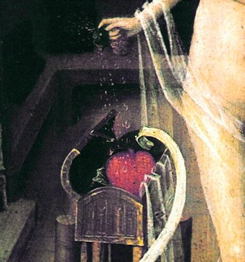 detail used to illustrate Conjure perfume oil from Alkemia Perfume