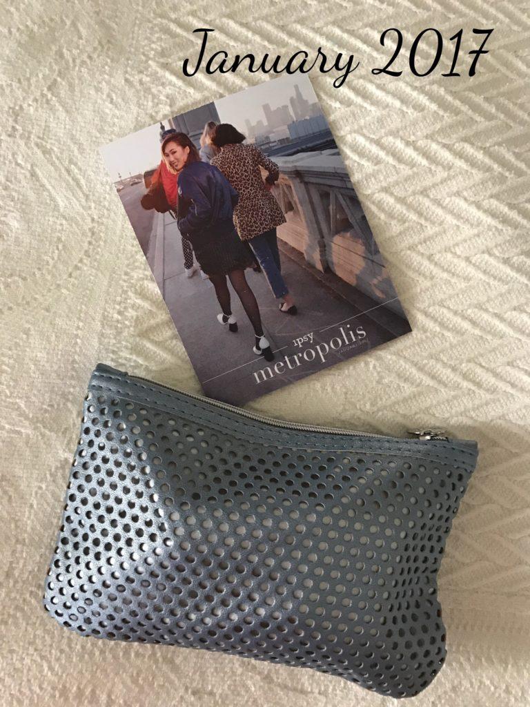 ipsy Metropolis glam bag, January 2017, neversaydiebeauty.com