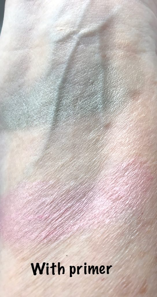 swatches Revlon ColorStay Creme Eyeshadow with primer, neversaydiebeauty.com