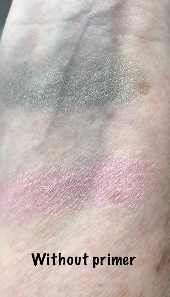 swatch Revlon ColorStay Creme Eyeshadows without primer, neversaydiebeauty.com
