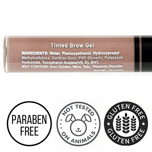 Beauty Junkees Tinted Brow Gel ingredients