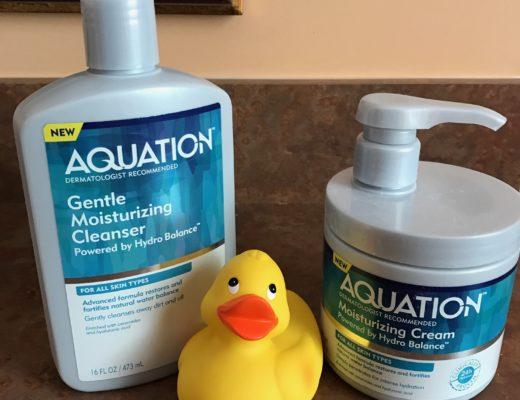 Aquation Moisturizing Cleanser and Cream, neversaydiebeauty.com