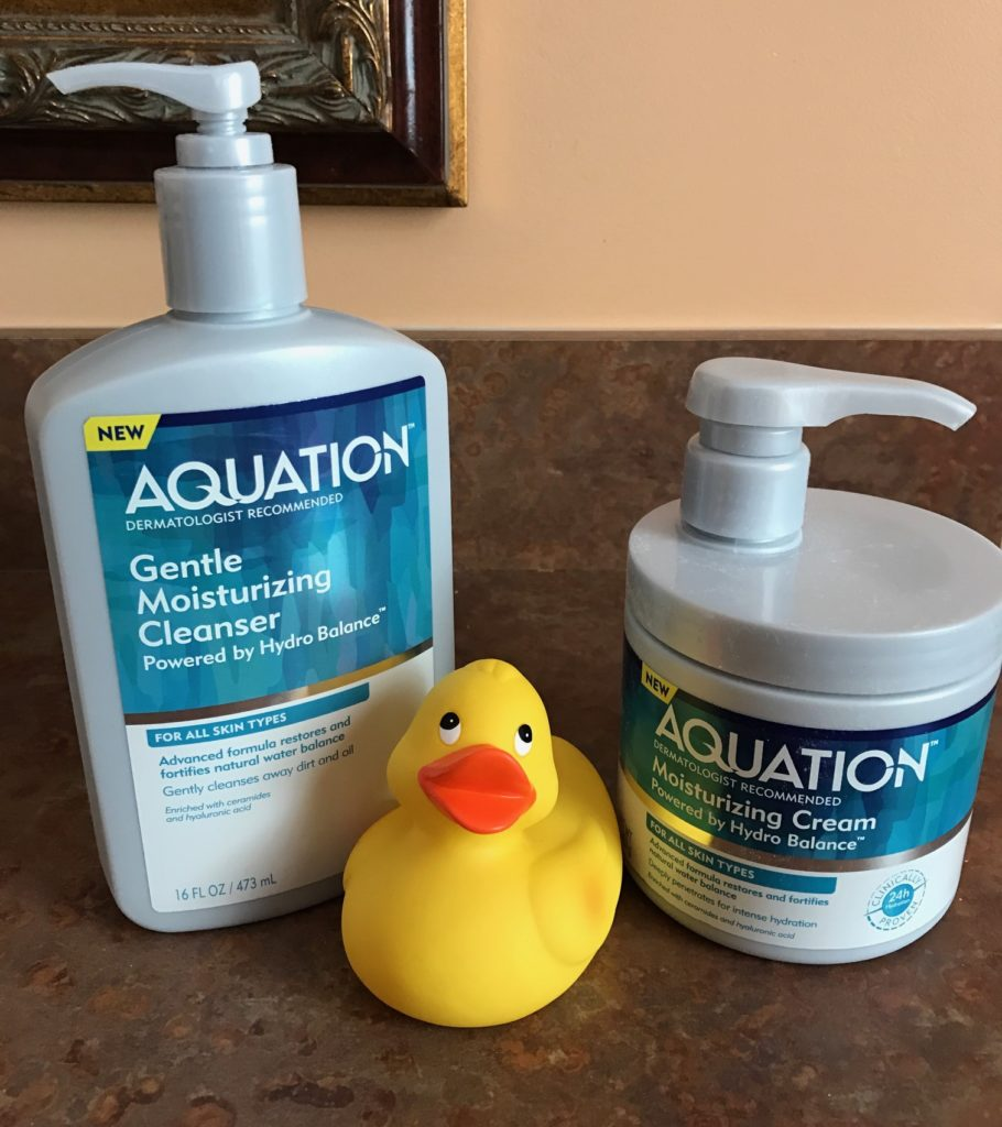 Aquation Moisturizing Cleanser and Cream, neversaydiebeauty.com
