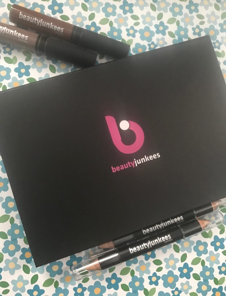Beauty Junkees eye and brow makeup and tools, neversaydiebeauty.com
