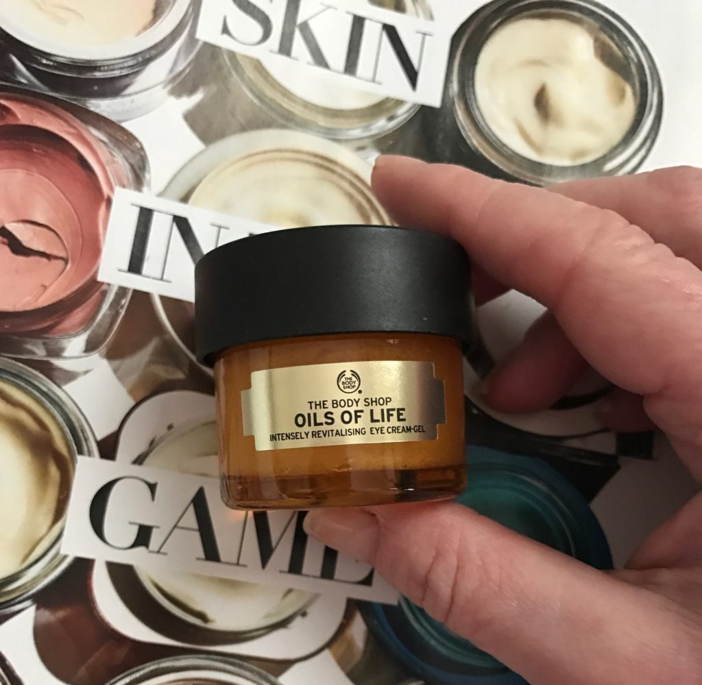 The Body Shop Oils of Life Intensely Revitalizing Eye Cream Gel, neversaydiebeauty.com