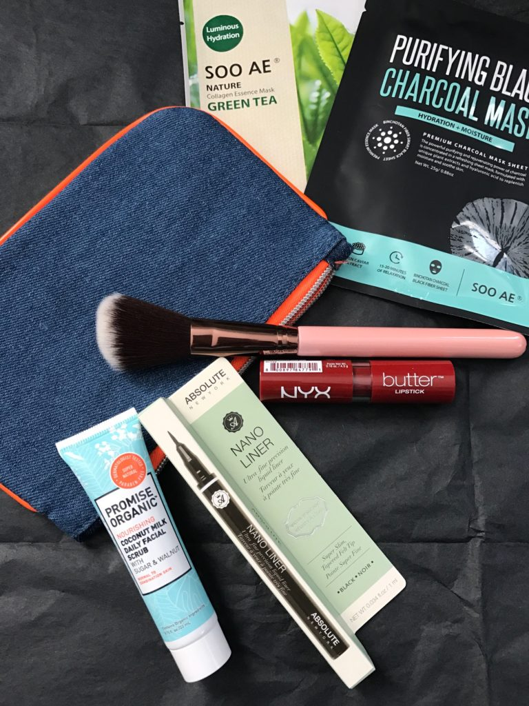 "February 2017 ""Much Love"" ipsy bag contents, neversaydiebeauty.com"