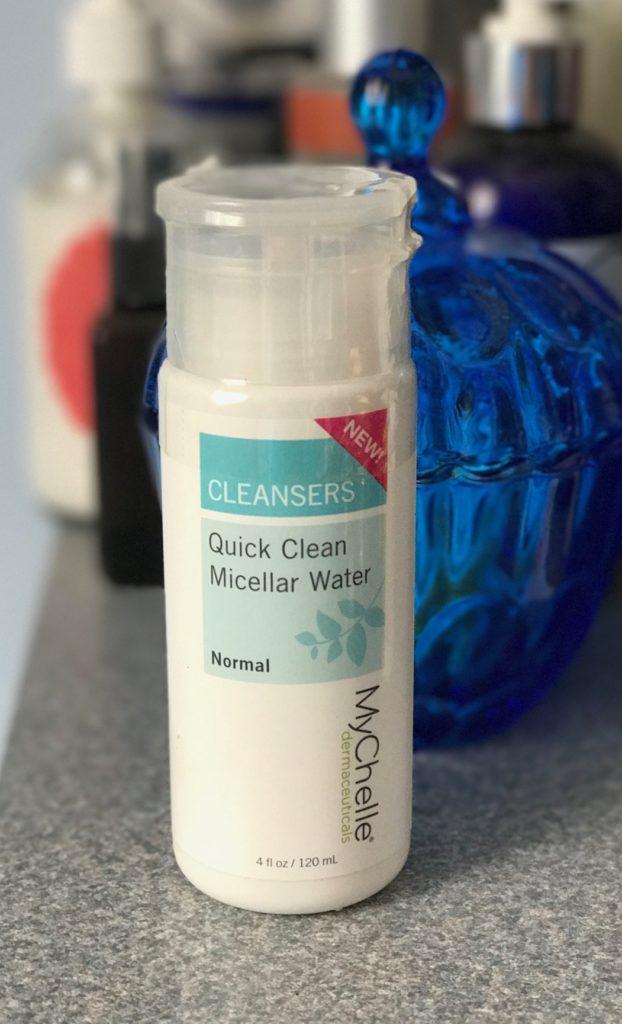 MyChelle Dermaceuticals Quick Clean Micellar Water, neversaydiebeauty.com