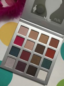 PUR Cosmetics Trolls Shadow Palette, open to show shades, neversaydiebeauty.com