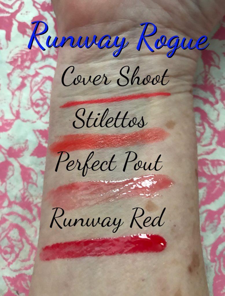 Runway Rogue swatches, neversaydiebeauty.com