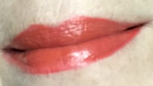 lip swatch Runway Rogue's Stilettos lipstick, neversaydiebeauty.com