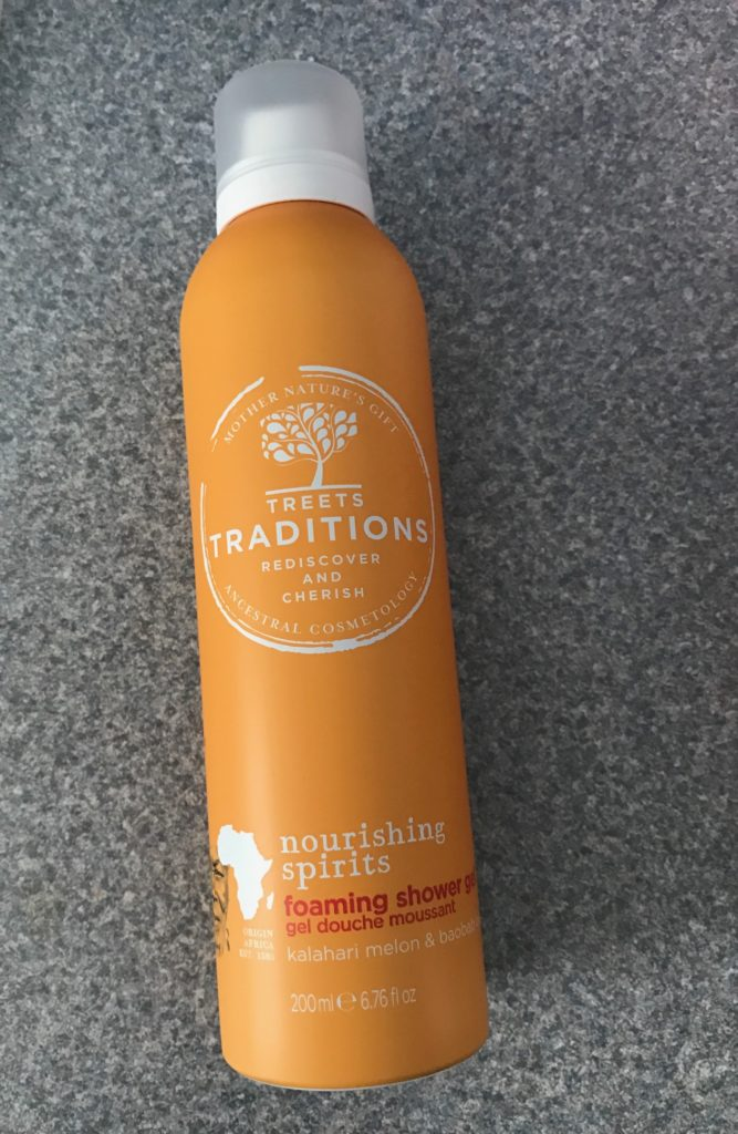 Treets Traditions Nourishing Spirits Foaming Shower Gel, neversaydiebeauty.com