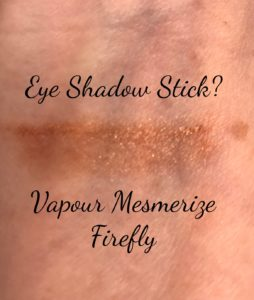 Vapour Organic Beauty shadow Firefly swatch, neversaydiebeauty.com