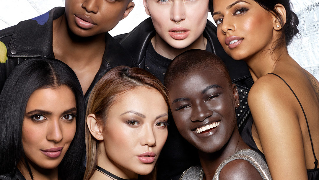 "the 6 beauty influencers in the ""Blend In. Stand Out"" campaign from MAKE UP FOR EVER"