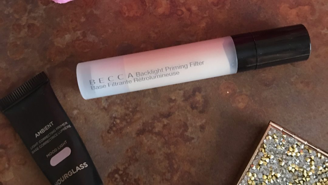 Becca and Hourglass filter primers, deluxe sample size, neversaydiebeauty.com