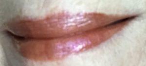 Darling Girl Cosmetics Balm Gloss 3D, shade Leeloo worn on its own, neversaydiebeauty.com