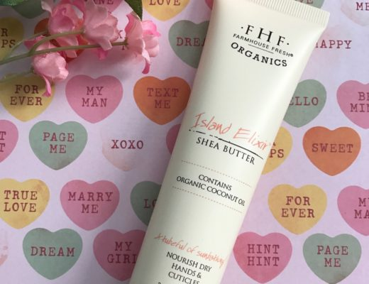 Farmhouse Fresh Organics Island Elixir Hand Cream tube, neversaydiebeauty.com