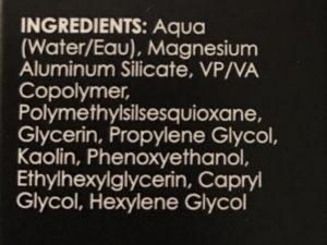 GloMinerals Mattifying Primer ingredients, neversaydiebeauty.com