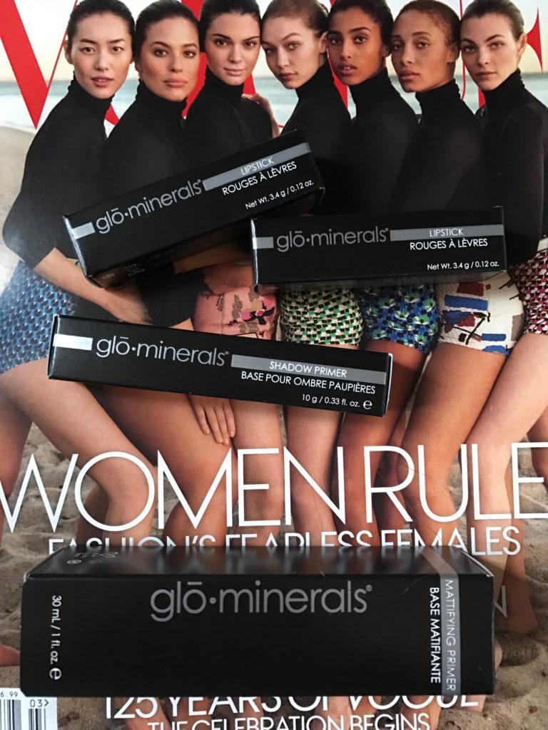 GloMinerals Spring 2017 makeups in their boxes, neversaydiebeauty.com