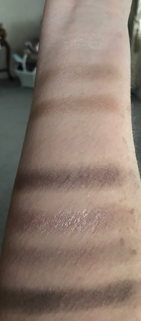 "Jesse's Girl ""Dream Girl"" eyeshadow palette swatches, neversaydiebeauty.com"