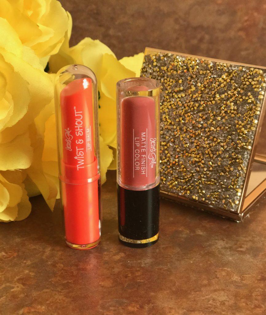 Jesse's Girl matte lipstick and lip balm Spring 2017, neversaydiebeauty.com