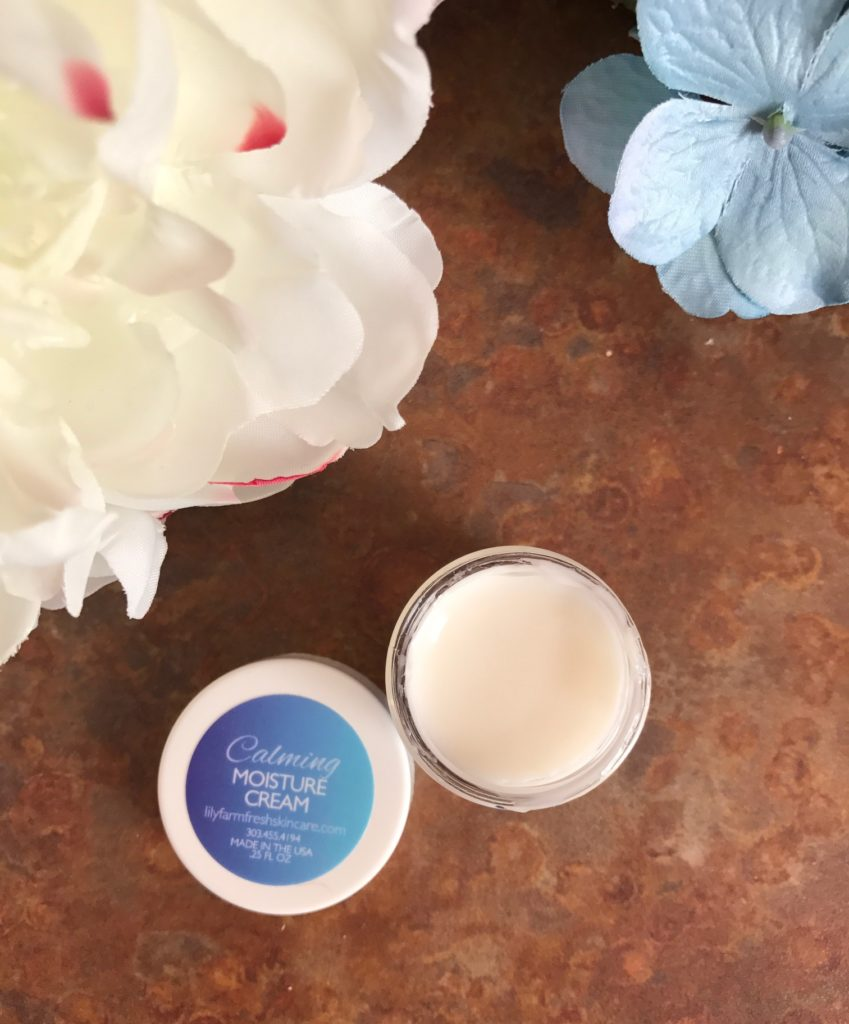 Lily Organics Calming Moisture Cream for Sensitive Skin, neversaydiebeauty.com