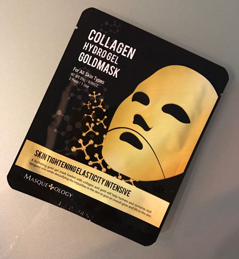 Masqueology Collagen Hydrolyzed Goldmask, neversaydiebeauty.com