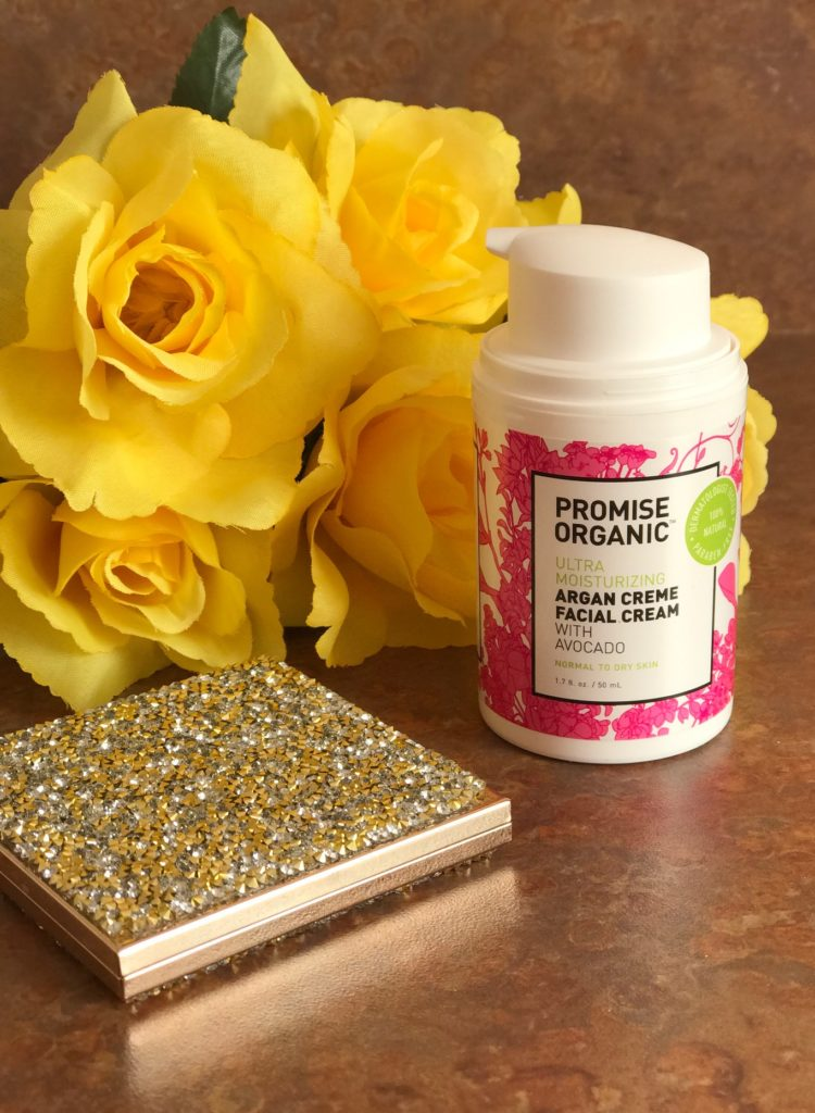 Promise Organic Argan Creme Facial Cream, neversaydiebeauty.com