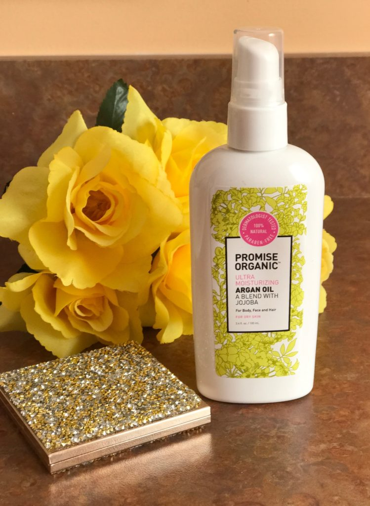 Promise Organic Argan Oil with Jojoba, neversaydiebeauty.com