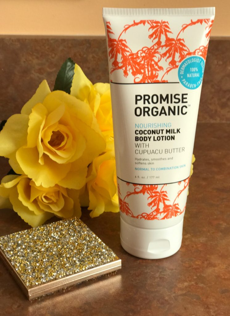 Promise Organic Coconut Milk Body Lotion, neversaydiebeauty.com