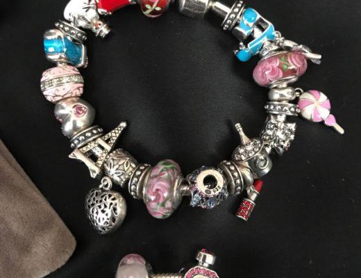 Soufeel charm bracelets, closeup, neversaydiebeauty.com