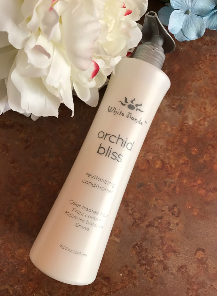 White Sands Orchid Bliss Revitalizing Conditioner, neversaydiebeauty.com