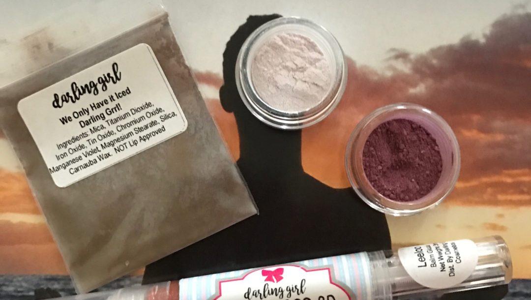 Darling Girl Cosmetics mini-haul, neversaydiebeauty.com
