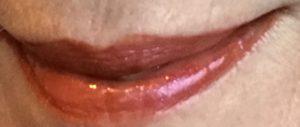 Darling Girl Cosmetics Balm Gloss Leeloo over Jesse's Girl matte lip color, Angelic neversaydiebeauty.com