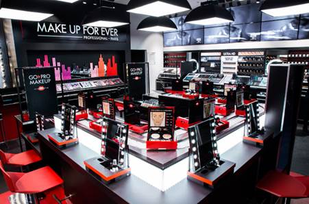 MAKE UP FOR EVER Global Flagship store NYC