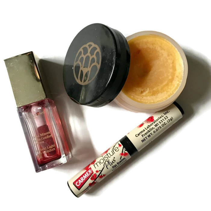 lip care empties or old products, neversaydiebeauty.com