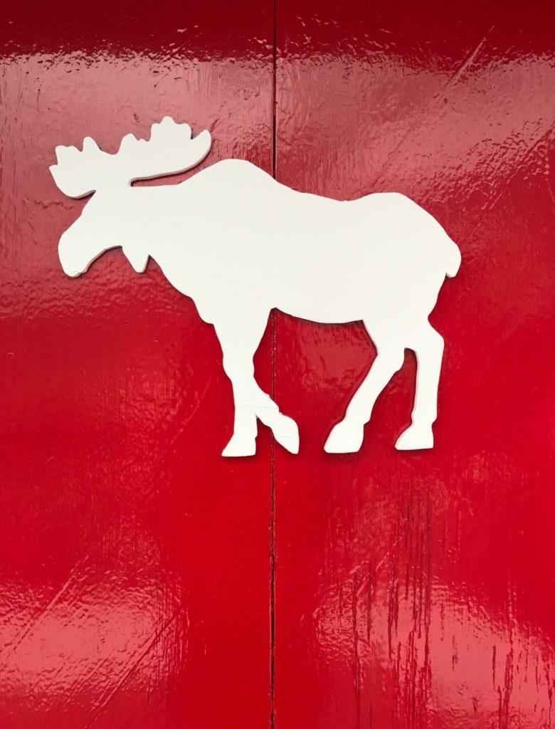 shutter from chalet at Mittersill, moose design, neversaydiebeauty.com