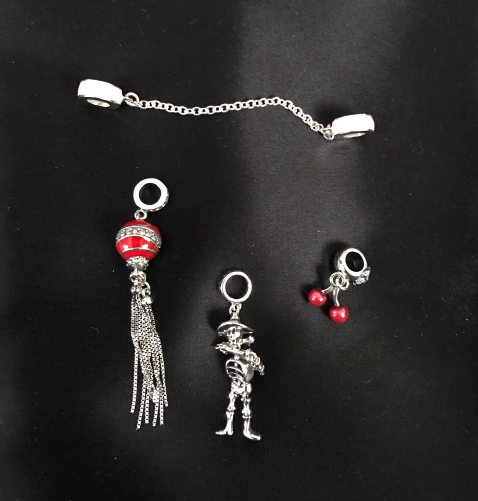 my four new Soufeel charms, neversaydiebeauty.com