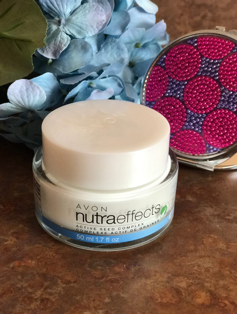 Avon NutraEffects Active Seed Complex Hydration Day Cream SPF 15, neversaydiebeauty.com