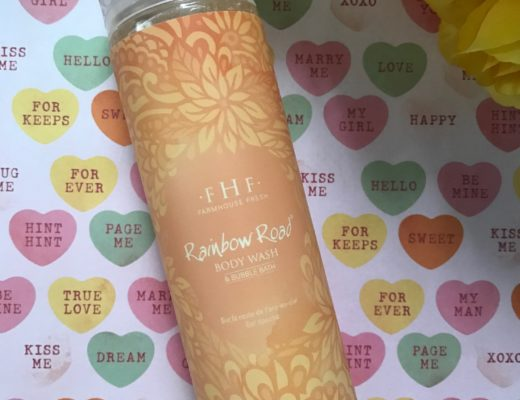 Farmhouse Fresh Rainbow Road Body Wash, neversaydiebeauty.com