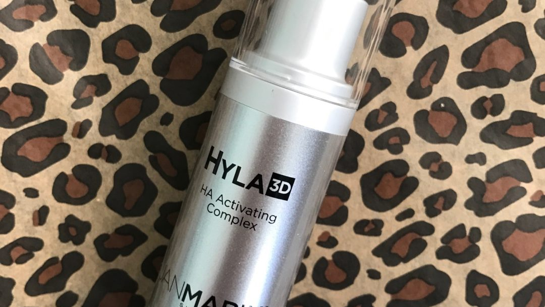 Jan Marini Hyla3D HA Activating Complex, pump bottle, neversaydiebeauty.com