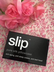 Slip Pure Silk Pillowcase box, neversaydiebeauty.com