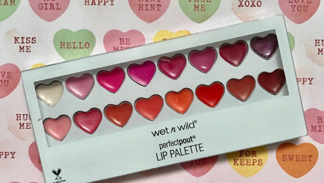 Wet N Wild Perfect Pout Lip Gloss Palette, neversaydiebeauty.com