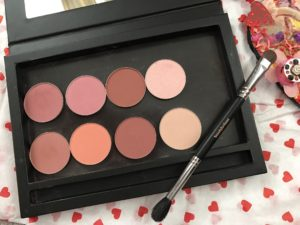 new blush and highlighter singles from Beauty Junkees in their magnetized palette, neversaydiebeauty.com