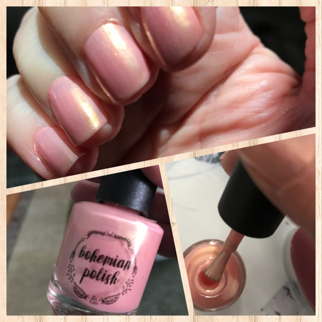Bohemian Polish Makin' Bacon Pancakes nail polish and swatch, neversaydiebeauty.com