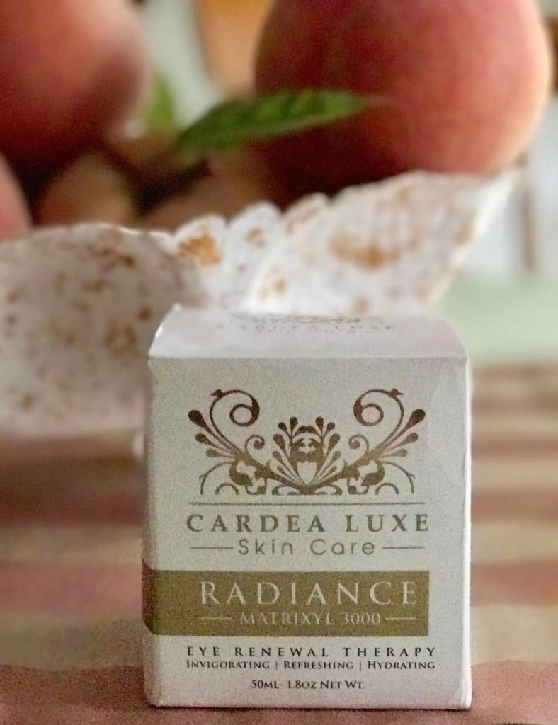 Cardea Luxe Radiance Eye Renewal Therapy, outer package, neversaydiebeauty.com