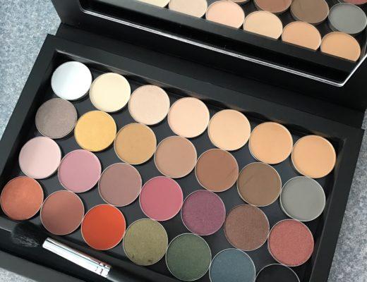 Beauty Junkee eye shadow single in open magnetic palette, neversaydiebeauty.com